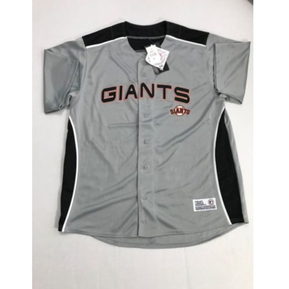 buy popular 1a3d1 5ef4e Dynasty Black Orange San Francisco Giants Jersey NWT